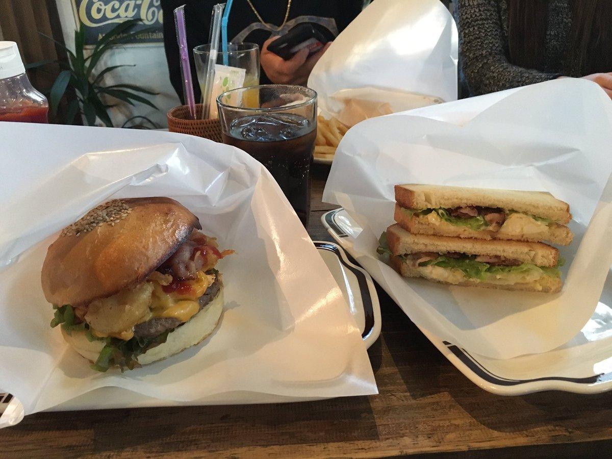 虹ケ浜の所にあるハンバーガー屋わず✌