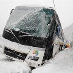 札幌・定山渓で観光バス事故 7人搬送 sankei.com/photo/story/ne… pic.…