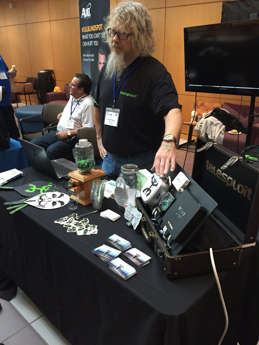 Telesploit on twitter day 2 ntxissacsc5 is underway come see us drop a business card to win a mintbox mini ntxissa ntxissa pentest infosec techpicitter2udnrv0wwr reheart Images