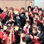 赤組優勝でしたー!!!メンバーのみんな最高でした。・゜・(ノД`)・゜・。そして応援してくださった皆…