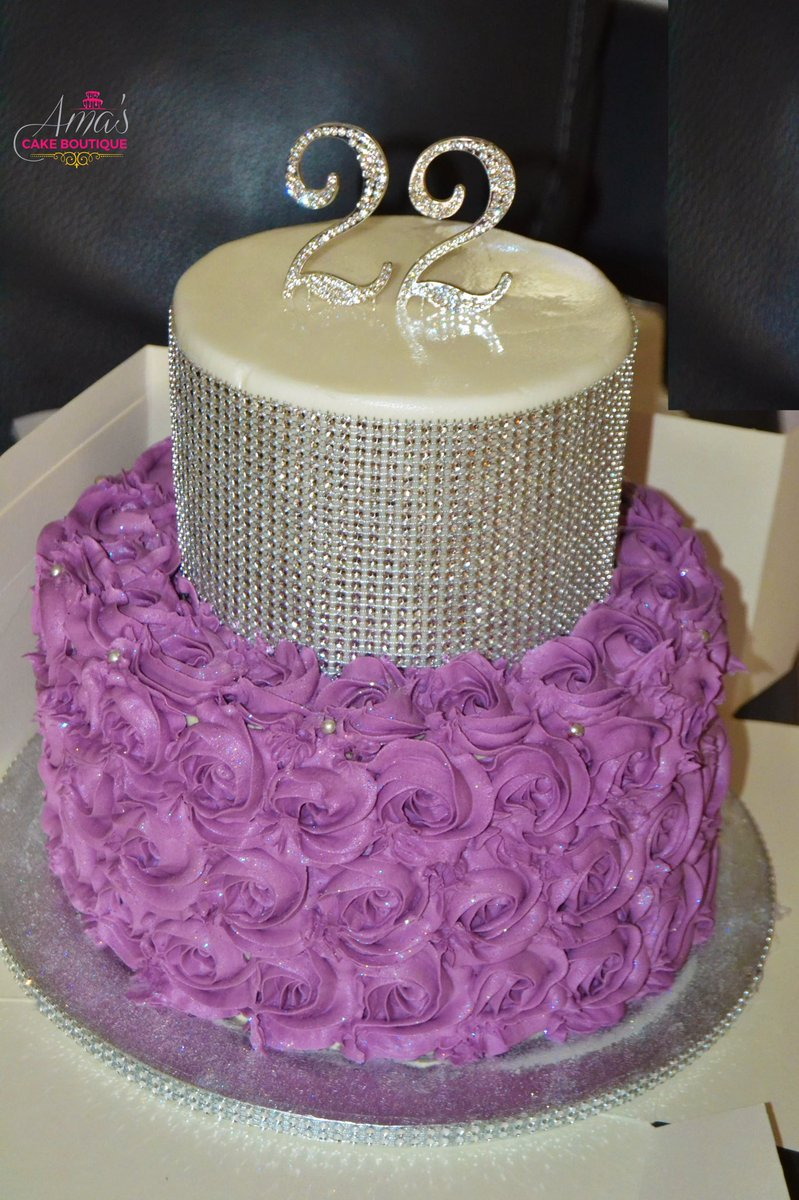 Peachy Amas Cake Boutique On Twitter Purple For Royalty Personalised Birthday Cards Sponlily Jamesorg