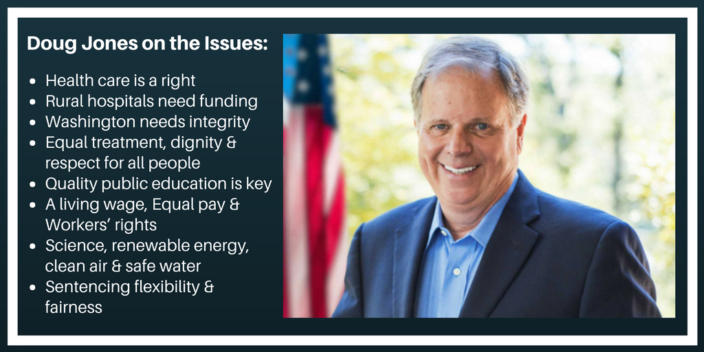 Learn where Doug Jones stands on key issues that affect your family, Alabama, and the nation. #DigDoug #TW https://t.co/HbtISavPDO