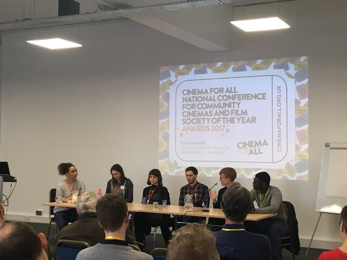 Young audience panel member: &quot;... want film to feel like an event. I&#39;ll watch TV on streaming services.&quot; #cinemaforall  #audiences <br>http://pic.twitter.com/zT2bK7hX67