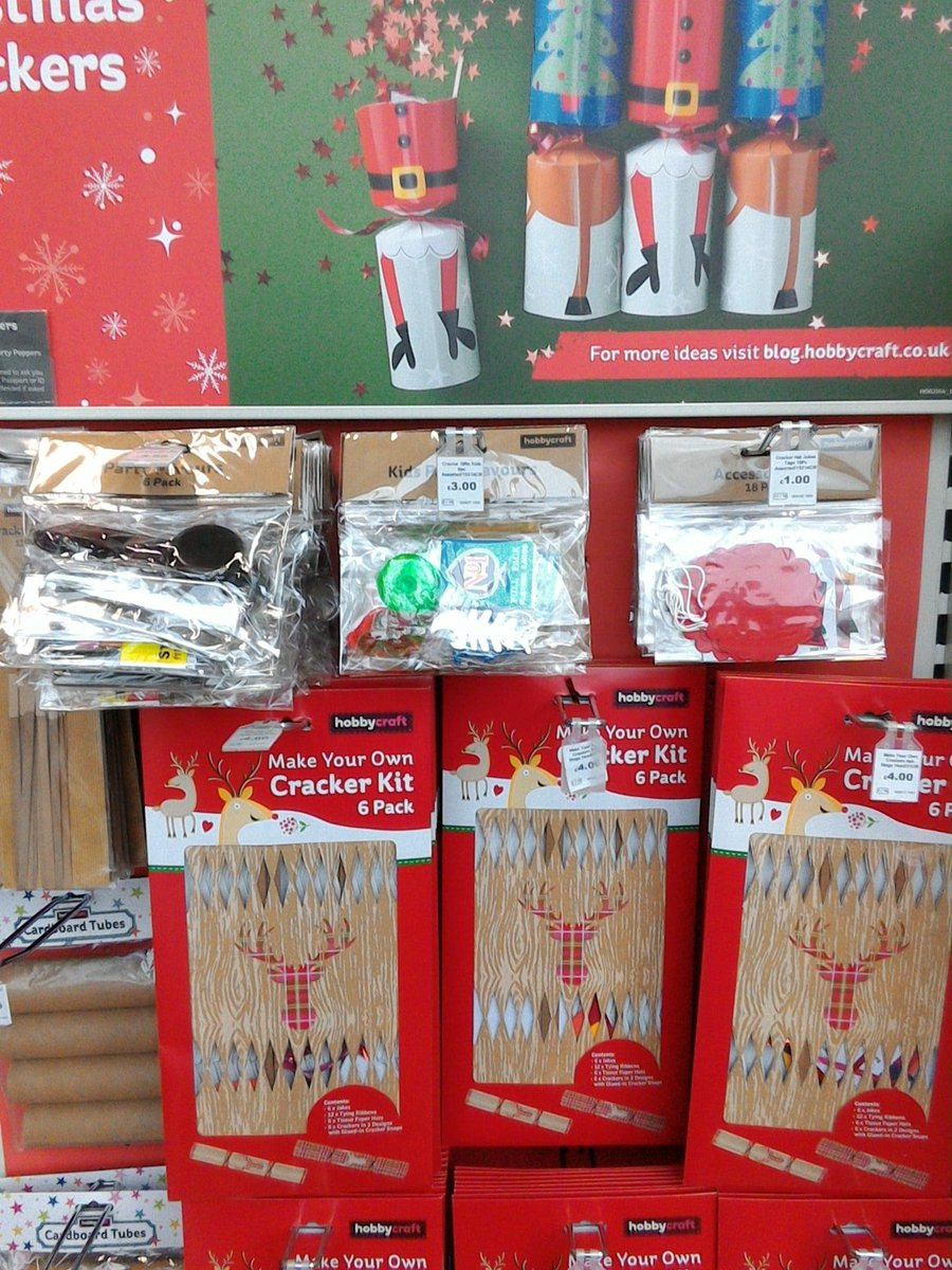 Christmasmakes twitter search do you love pulling the christmas crackers instore we have everything you need to create your own makeitdontbuyit christmasmakes picitter solutioingenieria Choice Image