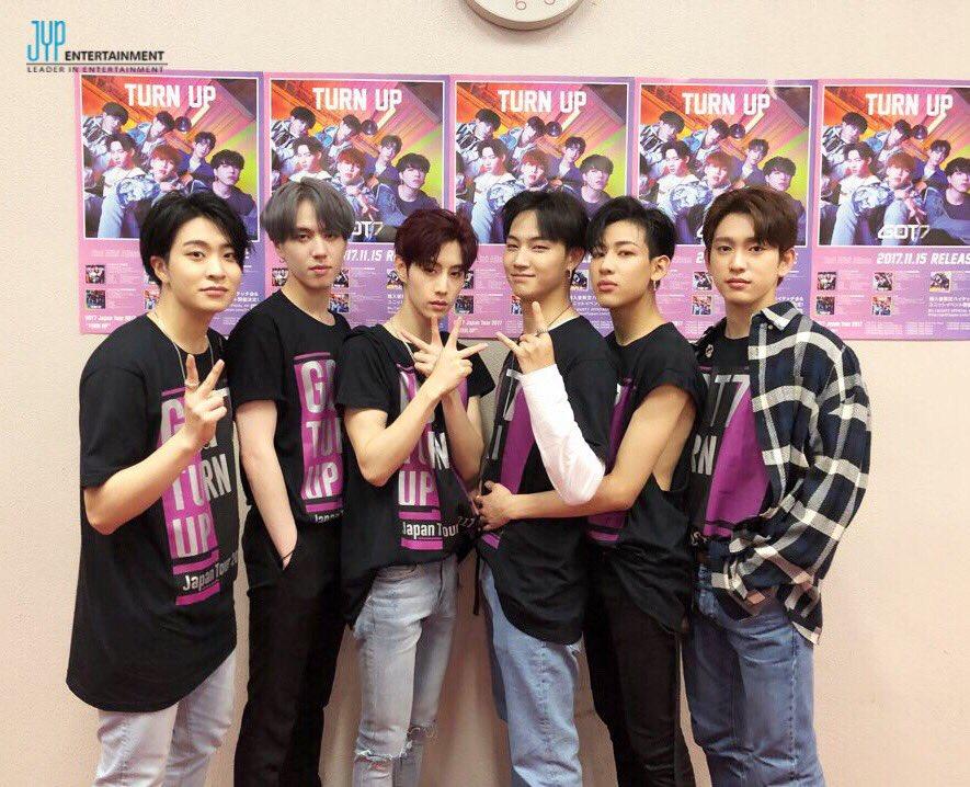 "GOT7 Japan Tour 2017 ""TURN UP""@福岡1日目!一回り…"