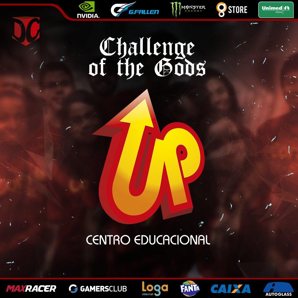 EDUCANDO PARA SEMPRE! @upvix  é a mais nova patrocinadora do Challenge of the Gods.  Garanta o seu ingresso!  https://ingressos.dxcma.com.br/  #dxcma #cotg #challengeofthegods #vitoriaES #capixaba #goES #novopatrocinador #escola #upvix #centroeducacionalpic.twitter.com/MGHks9yMHC