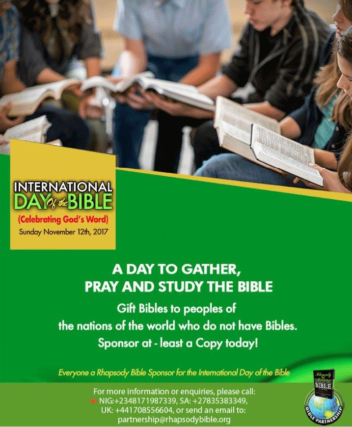 Rhapsody Bible on Twitter: