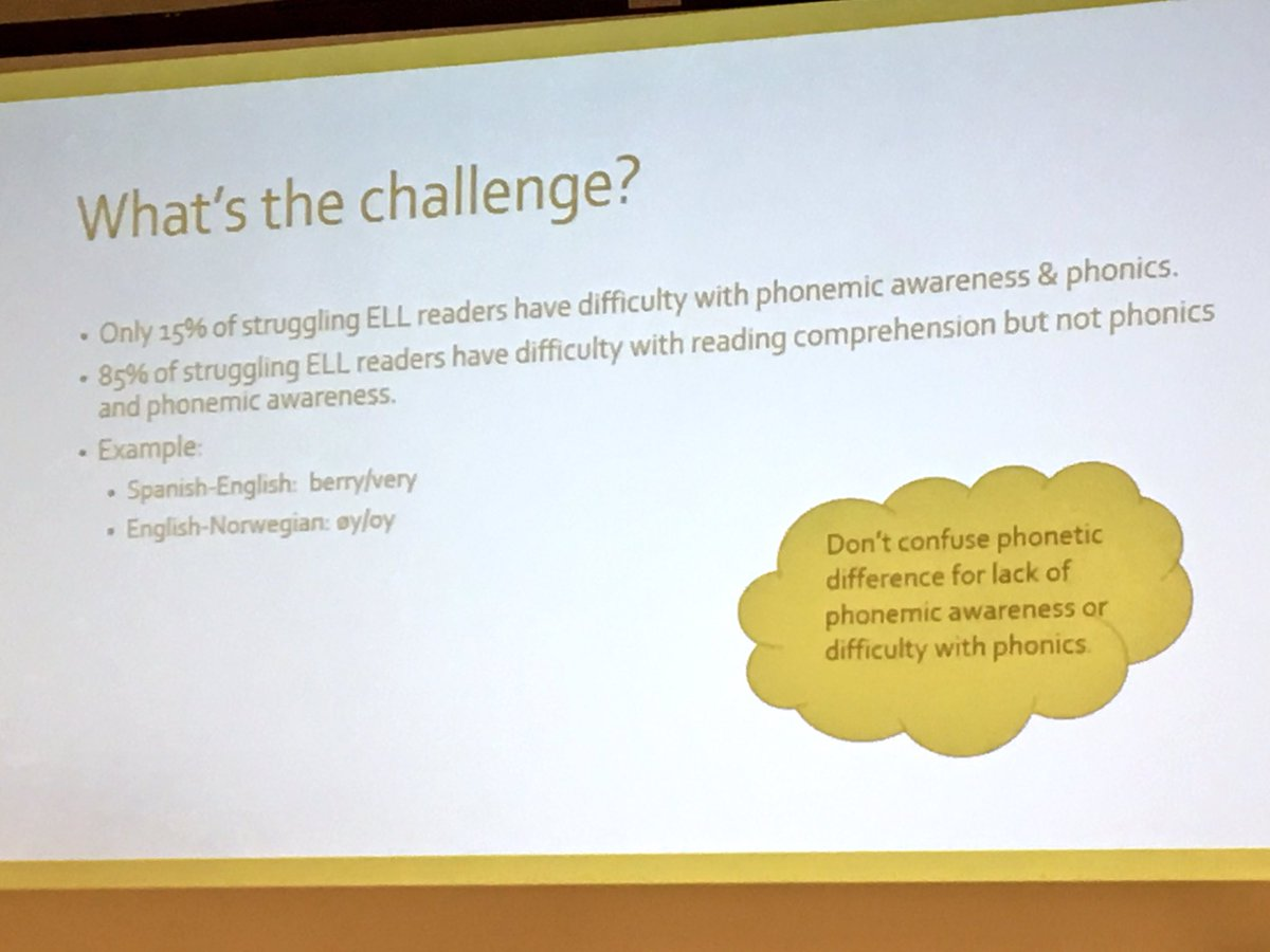 Carlota Holder On Twitter Only 15 Of Els Have Difficulty With