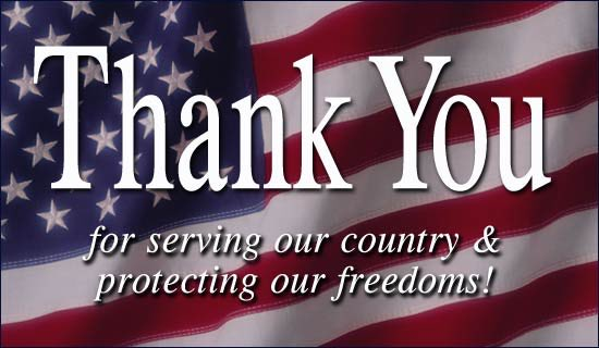 We're grateful to all who have served.