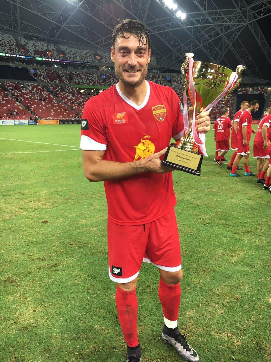 Albert Riera On Twitter Champions Again In Singapur