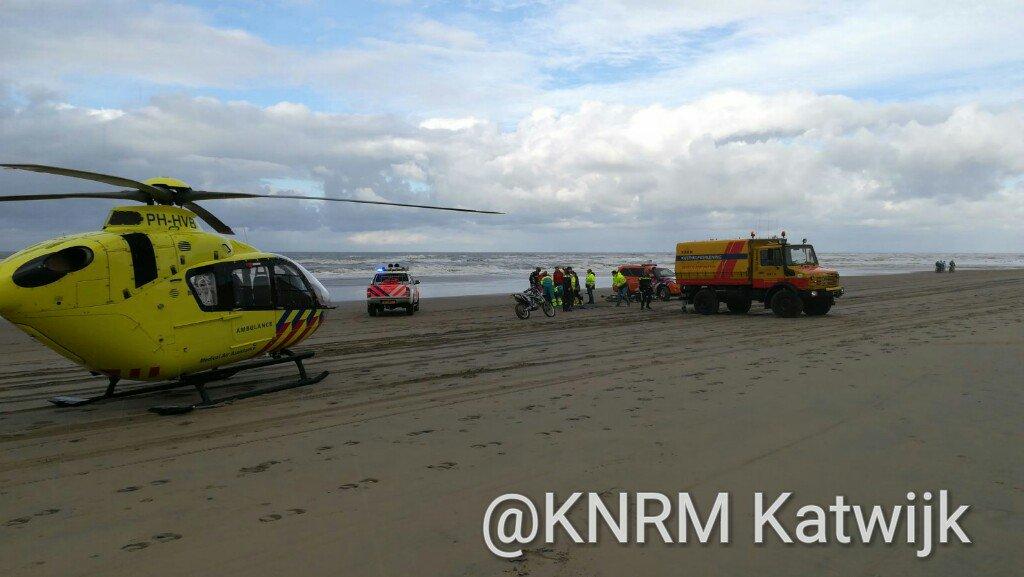 Hulpdiensten meerdere keren in actie langs de kust