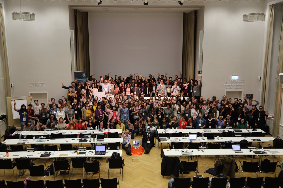 #OpenCon group photo! Amazing people at amazing conference :) #Berlin #OpenCon2017 #OpenScience #CC0<br>http://pic.twitter.com/qxu3fOPghP