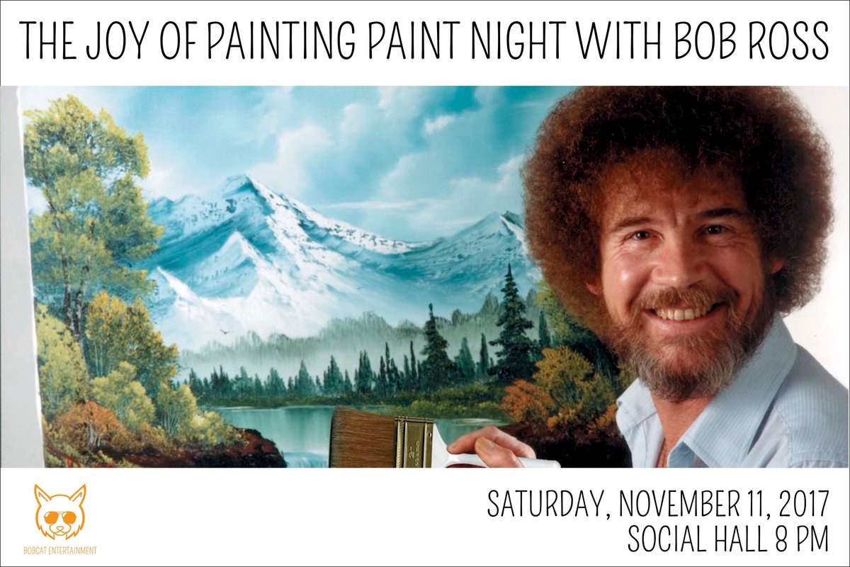 We dont make mistakes just happy little accidents