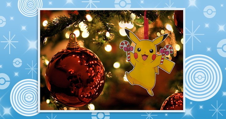 Pokemon Christmas Ornaments.Ice Type Pokemon On Twitter Deck The Halls With Pikachu