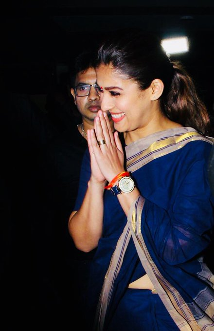 #NayantharaTheatreVisit Amazing Reception💥👍 Overwhelming response for #Aramm al over💥Great effort Team👏👍 https://t.co/7TMtcPrWzO