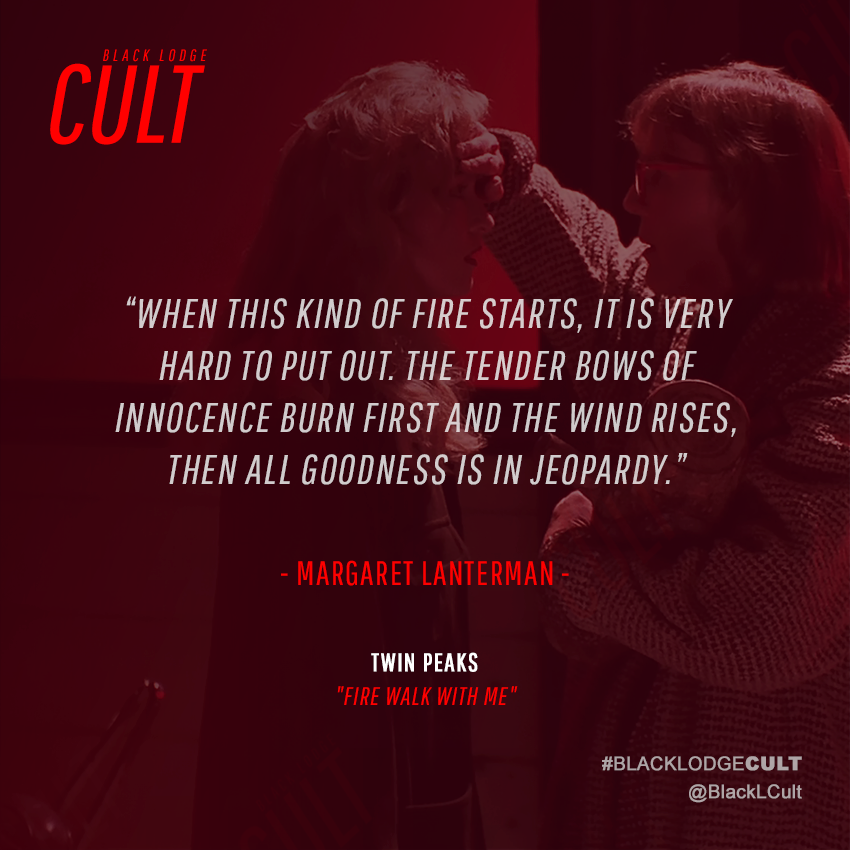 Black Lodge Cult On Twitter When This Kind Of Fire Starts