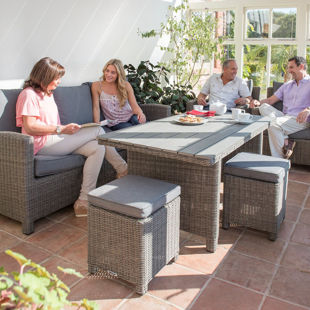 sit inside on kettler garden furniture get the most of your conservatory this winter by bringing your garden furniture indoors watch the winter wonderland