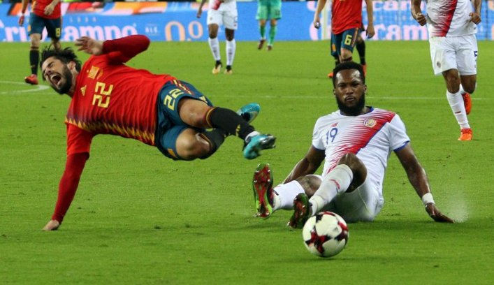 Футбол тм коста рика испания