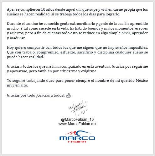Marco Fabián on Twitter: \