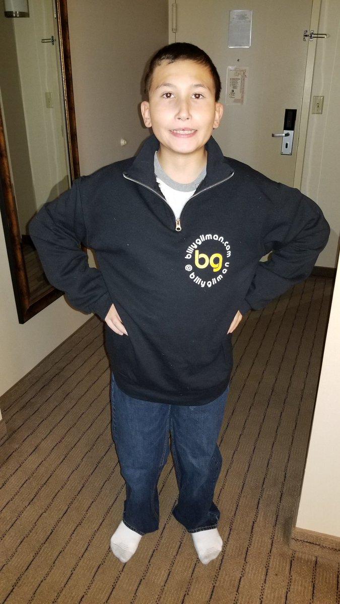 Michael is ready for 2nites @BillyGilman...