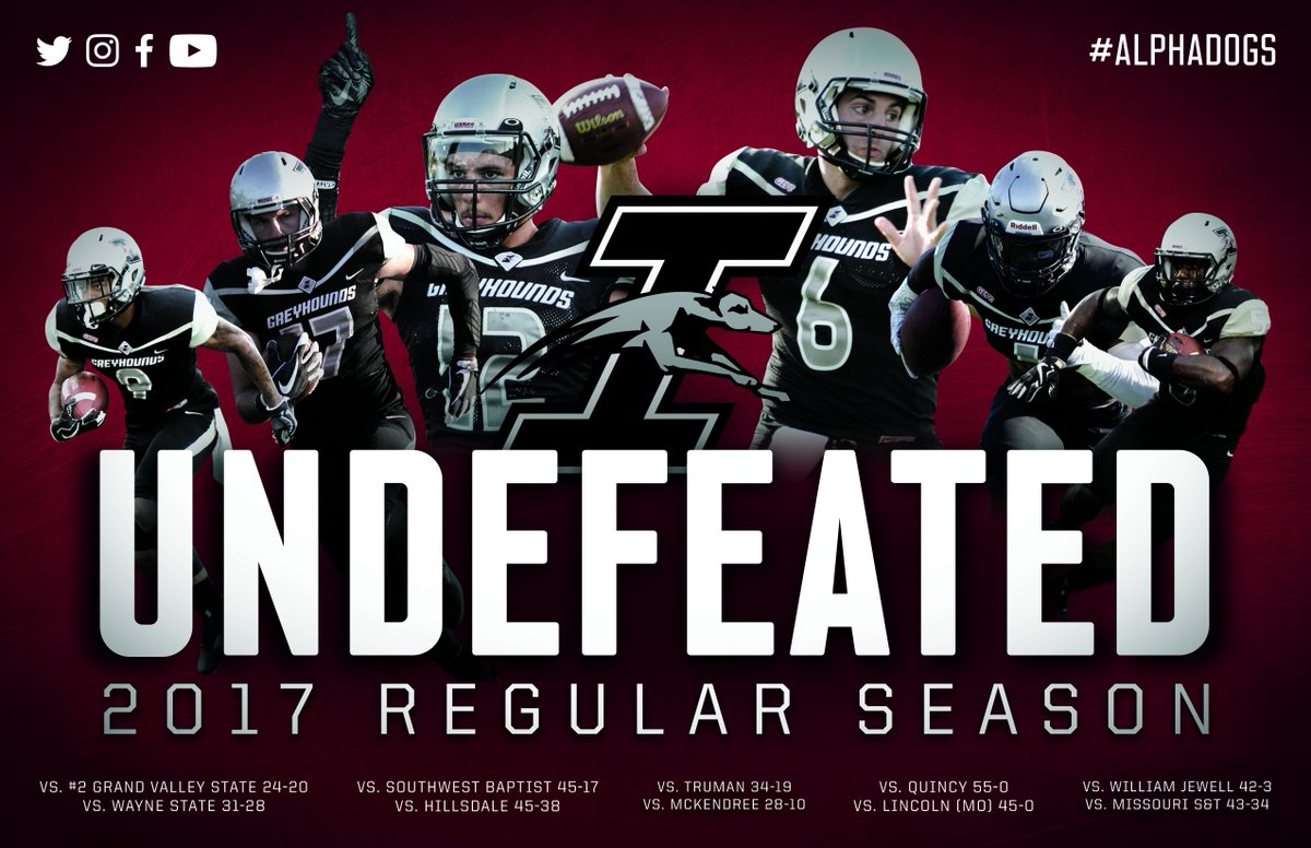Congrats to @UIndyFB for a record-breaking 11-0 season!!! https://t.co/JLCN96Owzh