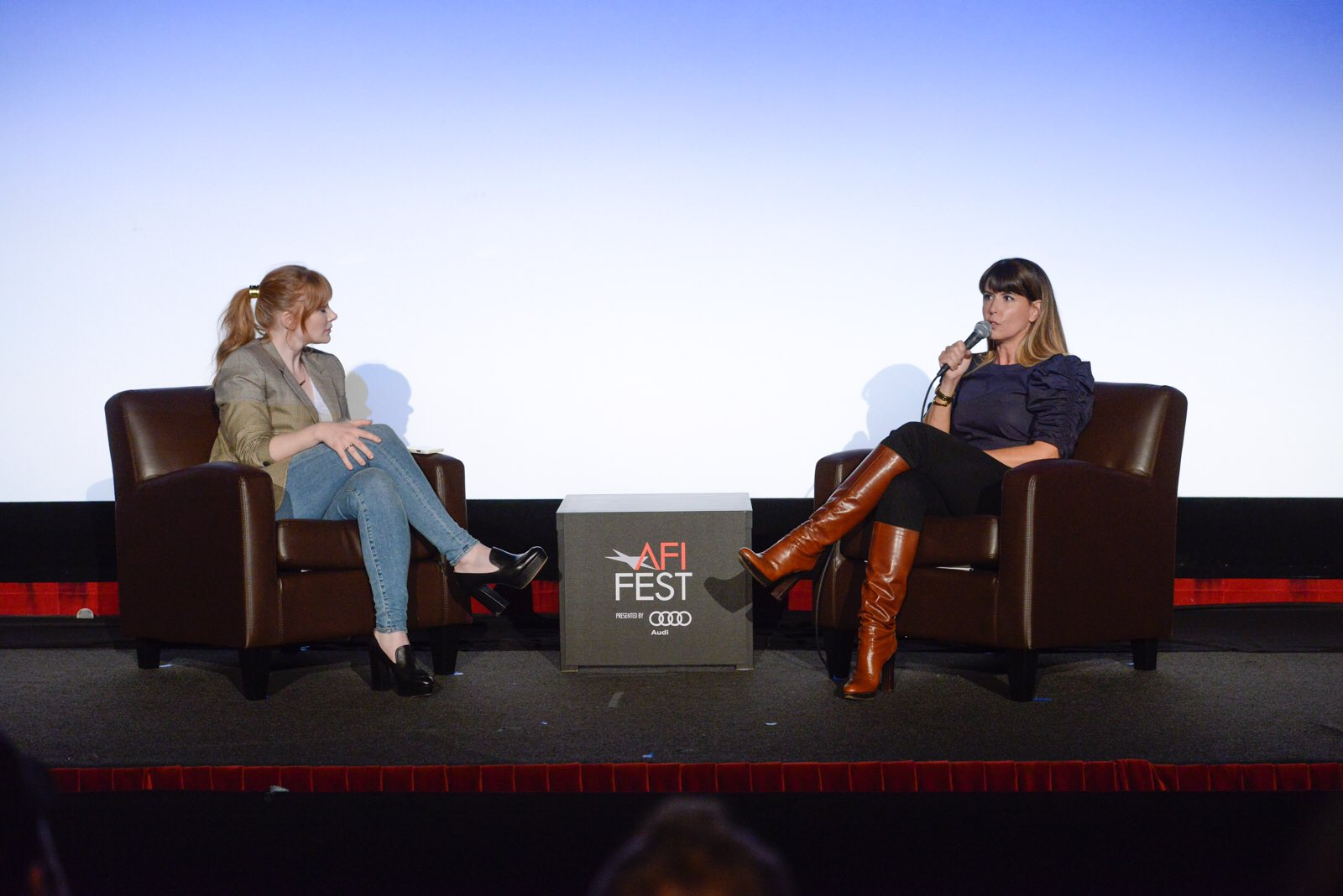RT @BryceDHoward: An epic interview with warrior pioneer @PattyJenks on filmmaking at @AFIFEST! https://t.co/P60zgE9mcq