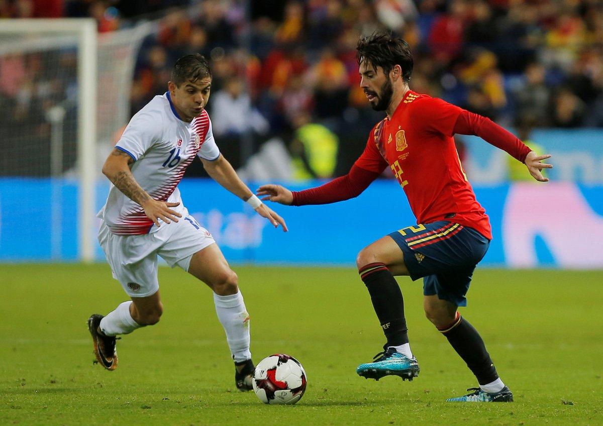 ТМ. Испания забивает пять мячей Коста-Рике - изображение 1