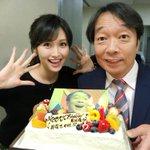 競馬予想TV!MC 見栄晴さんのお誕生日が13日という事で、みんなでお祝いしました〜🎉われポン優勝の…