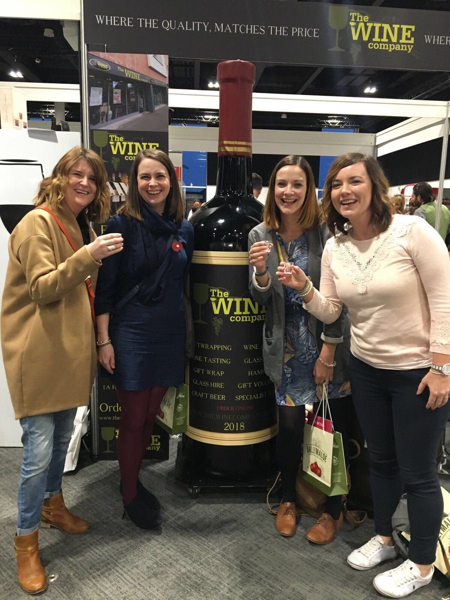 Fab day sampling lots of local food & drink @WineCompanyNI @BBCGoodFoodShow and watching @michelrouxjr