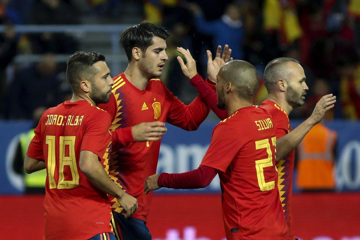 Video: Tây Ban Nha vs Costa Rica