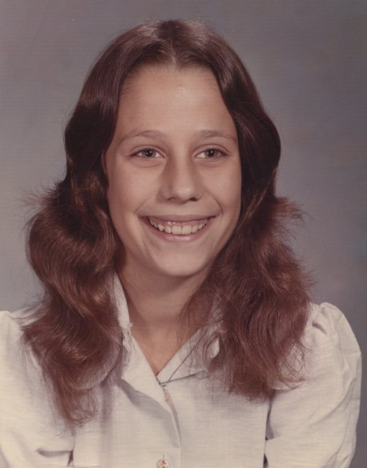 This is me at 14. I was on the gymnastics team and sang in the choir.  I was not dating a 32 year old man. Who were you at 14? Tweet a pic, tell us who you were and pic to the top of your page #MeAt14 #NoMoore