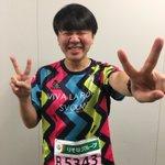 さいたま国際マラソン、走り切ります!風、強い!! pic.twitter.com/dvX2il6hd…