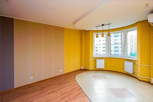 Дизайн 1 комнатной квартиры 40 квм фото с выделенным спальным местом
