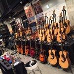 札幌ギターフェスタに来ています!マーシャルの壁にHELIX、EQDにロメロにアコギにエレキと今年もヤ…
