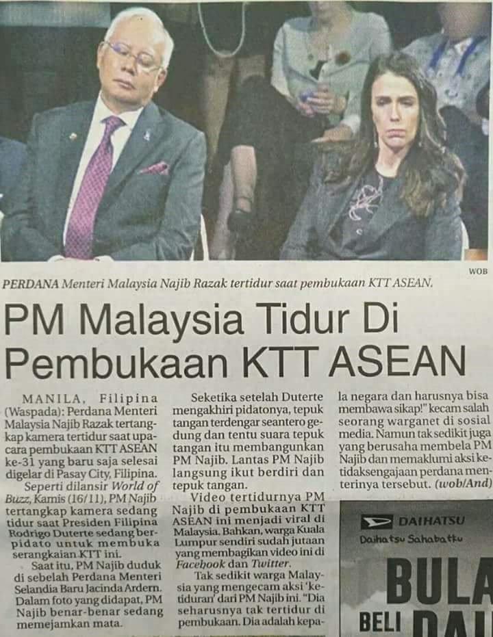 Dari akhbar Indonesia. Apa komen anda? https://t.co/fdbqOXaKfz