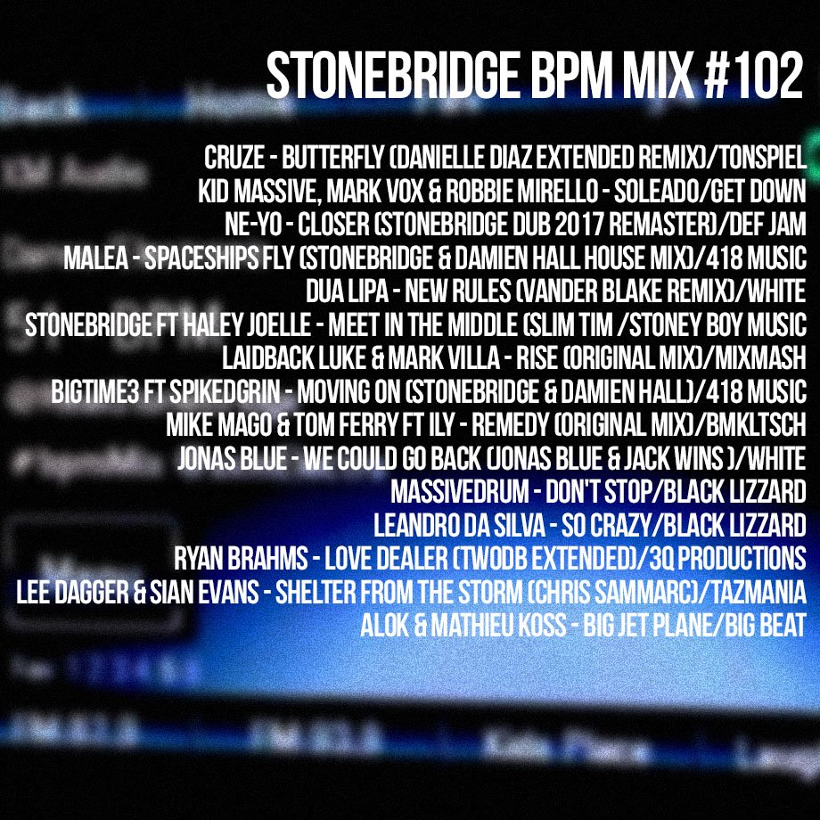 StoneBridge BPM Mix #102 is up  http:// mixcloud.com/stonebridge/10 2-stonebridge-bpm-mix &nbsp; …  - check it out! #stonebridge #stonebridgeshow #bpmmix #house <br>http://pic.twitter.com/68xUCCtJW0
