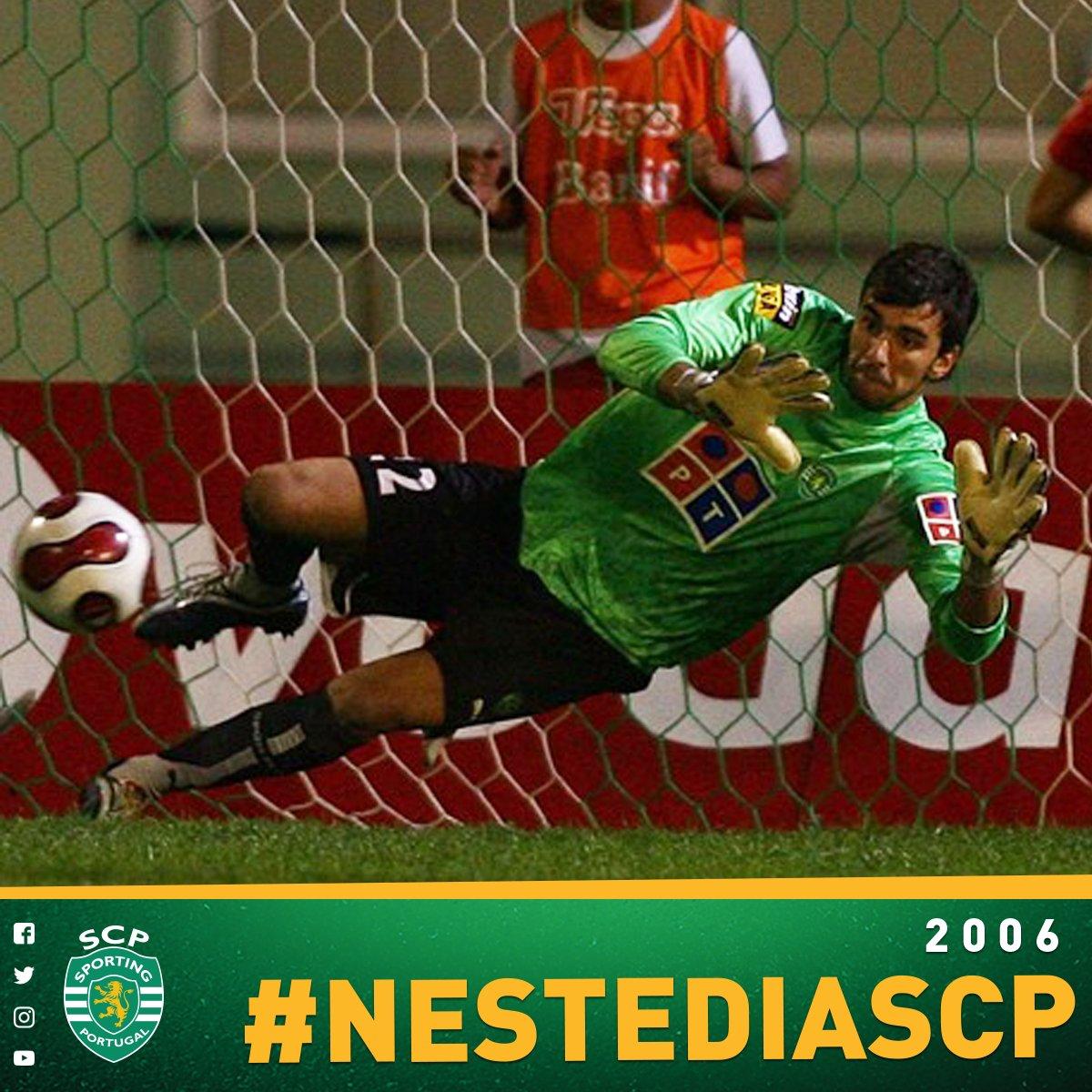 A história começou na Madeira. O resto vocês já sabem 😃  #NesteDiaSCP, um jovem Rui Patrício estreava-se pela primeira equipa com uma grande penalidade defendida. Passados 11 anos, o adolescente tornou-se um dos melhores do mundo 🔝