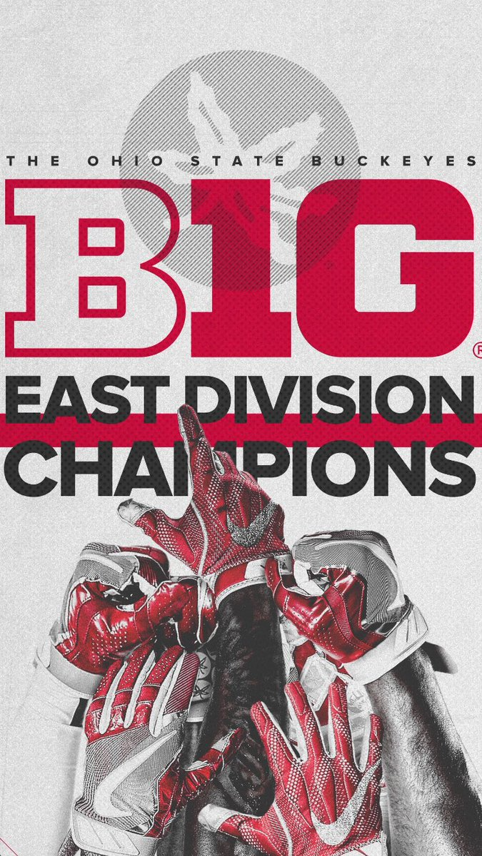 Ohio State Buckeyes On Twitter B1g East Champs