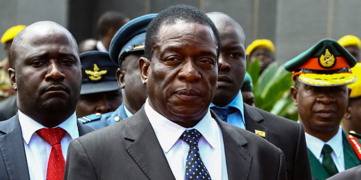 Emmerson Mnangagwa is on course to succeed Robert Mugabe as Zimbabwe's president https://t.co/Uze7qjUeB4