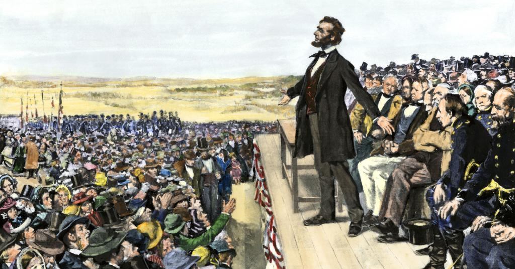 On #ThisDayinHistory 1863, Lincoln delivers the Gettysburg address. https://t.co/gbz16fvI6X