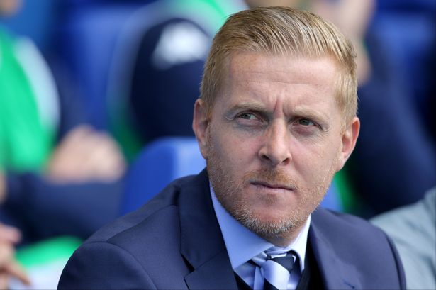 GOAL - #LUFC take the lead midway through the first half.  Not the ideal start for this chap on his Elland Road return...