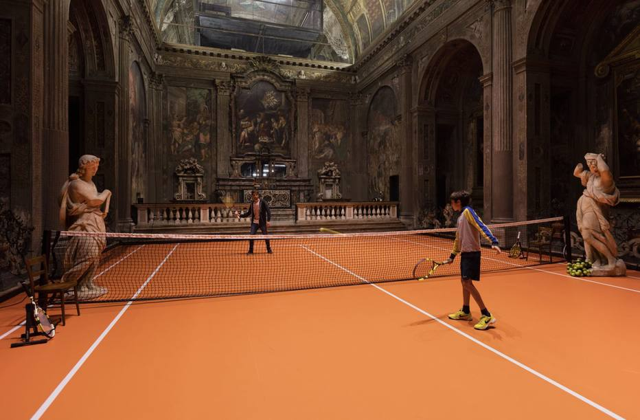 >@esportefera Artista monta quadra de tênis no interior de igreja italiana do século 16 https://t.co/R7Y6koNBKa
