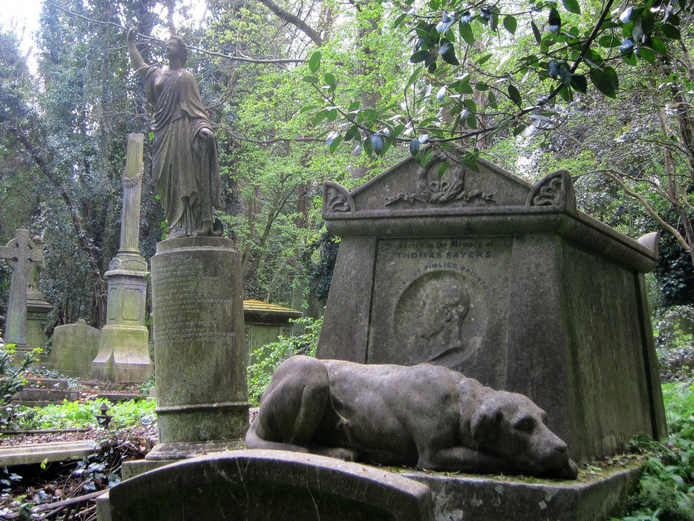Highgate Cemerty - London&#39;s creepiest, once the site of dueling magicians and mobs of stake-carrying vampire hunters. #tour #London #Classic #classictour<br>http://pic.twitter.com/eOvPcrp2af