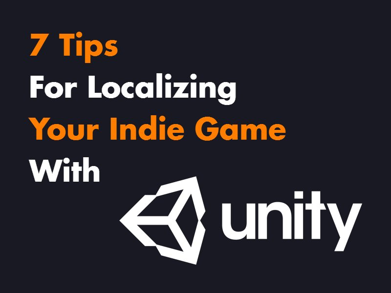 Sunday read for #indiedev #gamedev truly willing to take over the world:  http://www. leveluptranslation.com/single-post/7- tips-for-localizing-your-indie-game-in-unity &nbsp; …   #unity3d #tools #localization<br>http://pic.twitter.com/QxgpIj8UKd