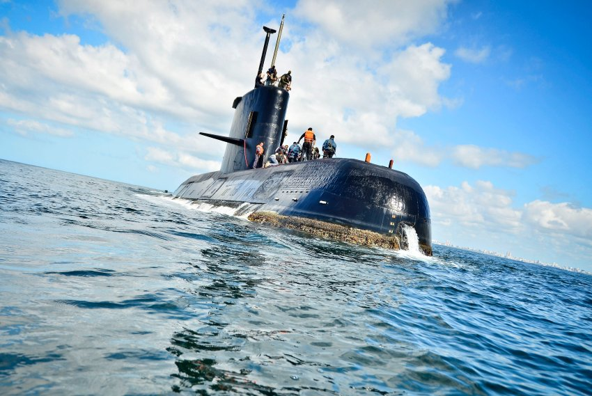 Argentinien: Verschollenes Marine-U-Boot setzt Notsignale ab https://t.co/hziSerbQs0