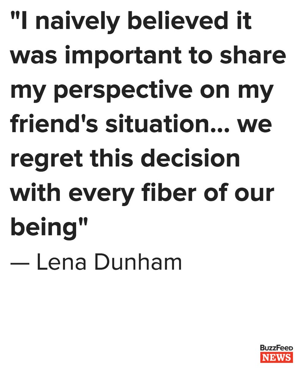 "Lena Dunham has apologized for defending ""Girls"" writer Murray Miller after he was accused of sexual assault https://t.co/2S0AlYtGK2"
