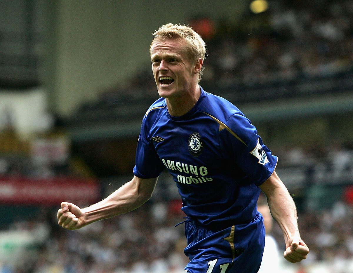 On this day: 2005 - Damien Duff scored his last @ChelseaFC goal. #CFC #Chelsea <br>http://pic.twitter.com/Rf26DMtOez