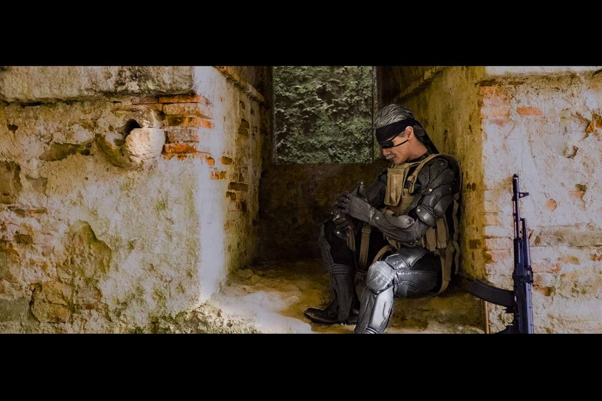 Some stories must end, but can&#39;t be forgotten... Thank you @Kojima_Hideo for this experience.  @HIDEO_KOJIMA_EN @KojimaProdMedia  @Kaizerkunkun  #metalgearsolid #mgs30th #mgs #old #snake #ahideokojimagame #movie #legend #cosplay #oldsnake<br>http://pic.twitter.com/SxwsCMm4xD