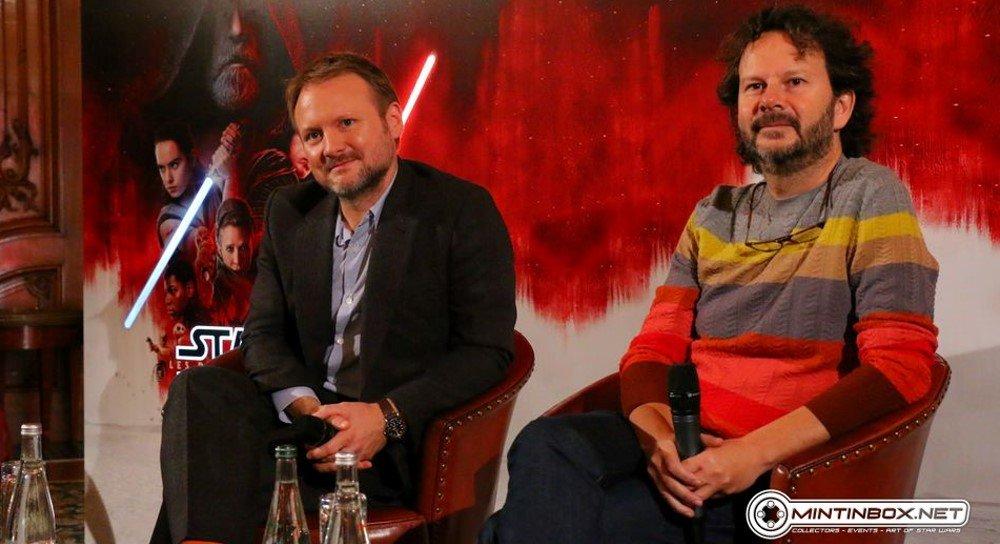 &#39;Star Wars The Last Jedi&#39; Paris press conference with Rian Johnson and Ram Bergman -  https:// wp.me/p8GVYH-1Ny  &nbsp;   #StarWars @MintInBox @rianjohnson @rambergman @PlaneteStarWars<br>http://pic.twitter.com/4IlkEAe9JR