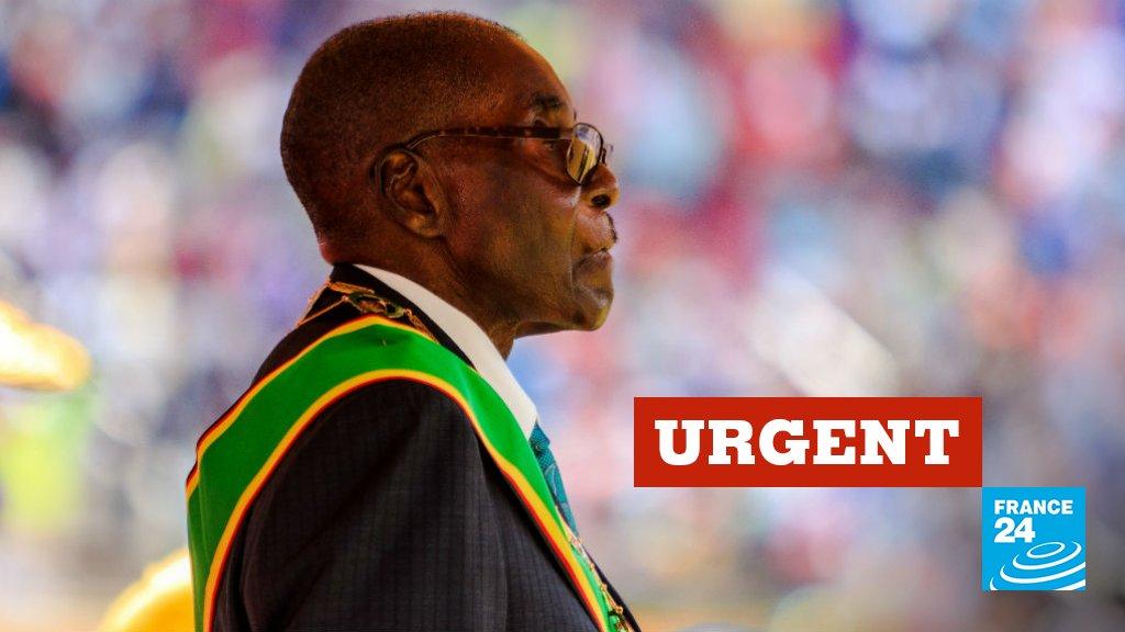 🔴 #URGENT - Zimbawe: Robert Mugabe destitué de la présidence de son parti, la Zanu-PF (source: parti au pouvoir) https://t.co/BAJX0STLoh